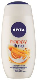Nivea Happytime Body Shower Cream - 250ml
