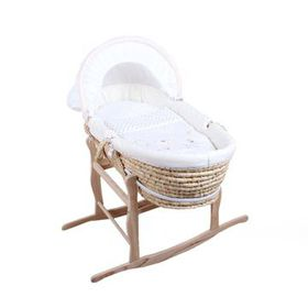 Snuggletime - Moses Basket & Linen Set - Natural