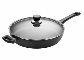 Scanpan - 32cm Classic Saute Pan with Lid - Black