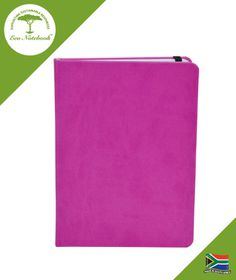 Eco Notebook Hard Cover A5 - Pink