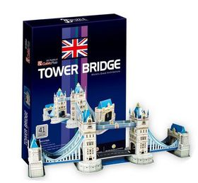 Cubic Fun Tower Bridge UK - 41 Piece 3D Puzzle