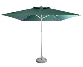 Cape Umbrellas - 2.5m Classic Line Mariner Square Umbrella - Dark Green