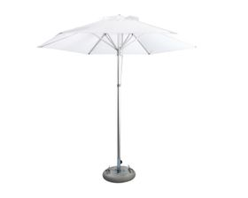 Cape Umbrellas - 2.6m Classic Line Mariner Hexagonal Umbrella - White