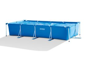 Intex - Frame Pool - Square - Blue