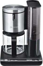 "Bosch ""Styline' 1600W Filter Coffee Maker - Black/ Stainless Steel"