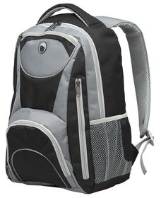 Eco Adventure 15 Inch Laptop Backpack - Black