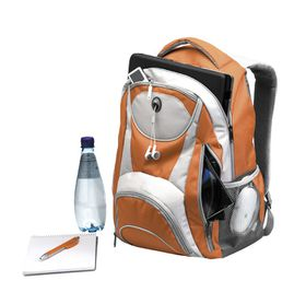 Eco Adventure 15 Inch Laptop Backpack - Orange