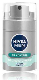 Nivea for Men Multi Effect Oil Control Gel Moisturiser - 50ml