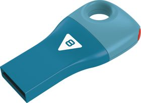 Emtec D300 Car Key USB 2.0 Flash Drive 8GB - Blue