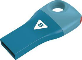 Emtec D300 Car Key USB 2.0 Flash Drive 8GB - Blue