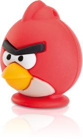 Emtec A100 Angry Birds USB 2.0 Flash Drive - Red - 8GB
