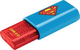 Emtec C600 2D Superman USB 2.0 Flash Drive - 8GB