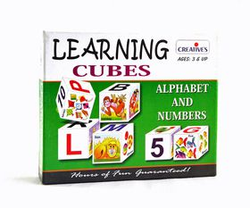 Creatives Toys Learning Cubes Alphabet & No's