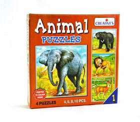 Creatives Toys Animal Puzzle No.1
