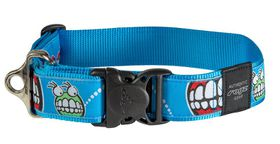 Rogz Fancy Dress Extra Extra Large 40mm Special Agent Dog Collar - Comic Design