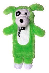 Rogz - Thinz Plush Large Dog Toy - Green - 33cm