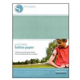 Silhouette CAMEO Printable Tattoo Paper