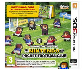 Nintendo Pocket Football Club (3DS DOWNLOAD CODE)