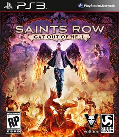 Saints Row IV: Gat Out Of Hell (PS3)