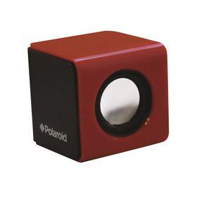 Polaroid Graffiti Black & Red Wired Sound Cube