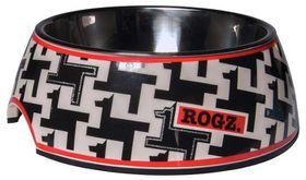 Rogz 2-in-1 Medium 350ml Bubble Dog Bowl - Hound Dog Design