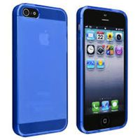 Blue Frosted TPU Case for iPhone 5/5s