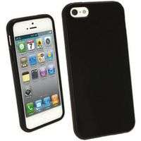Black Frosted TPU Case for iPhone 5/5s