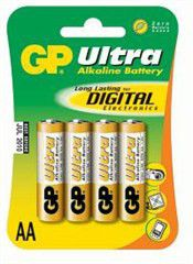 GP Batteries 1.5V AA Alkaline Ultra Plus Batteries