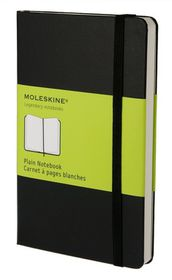Moleskine Classic Black Pocket Plain