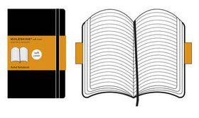 Moleskine Soft Black Extra Large Ruled Notebook