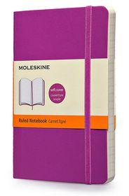 Moleskine Soft Purple Ruled Large Notebook