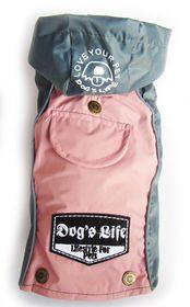 Dog's Life - Summer Rain Jacket - Pink - Medium
