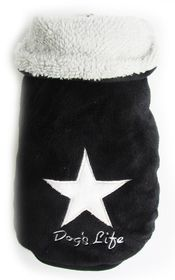 Dog's Life - Star Cape Jacket - Black - Medium