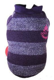 Dog's Life - Wool Jersey2 Purple - Medium