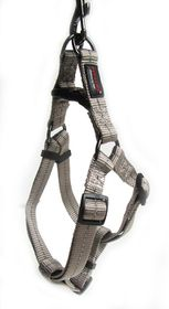Dog's Life - Reflective Supersoft Webbing Harness - Grey - Extra-Large