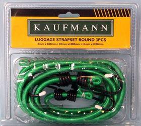 Kaufmann - Luggage Strap Set - 3 Piece