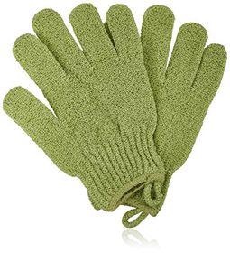 Body Benefits Bath & Shower Gloves - White & Green