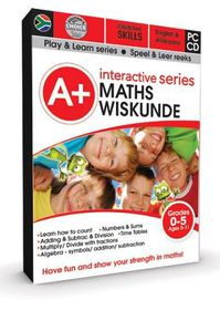A+ Interactive Series: Maths - Ages 5-11 (Afrikaans & English)