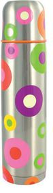 Pylones - Spots Silver - Large Thermos