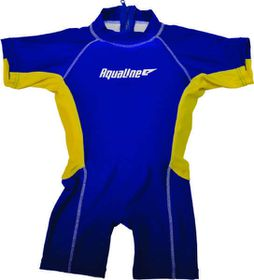 Aqualine - Boys Float Suit Blue - (Size: 5-6 years)