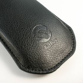 Tuff-Luv Faux Leather Pull-E slip case cover for Apple Magic Mouse - Black