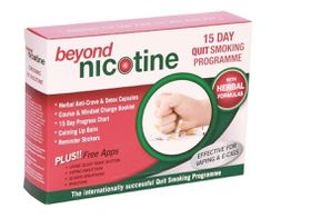 Beyond Nicotine 15 Day Quit Smoking Programme with Herbal Support