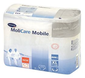 Molicare Mobile Pull Up Pants - Extra Large 14's