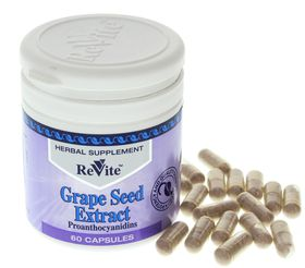 Revite Grape Seed Extract Capsules - 60's