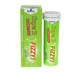 Revite Super B Energy Injection Fizzy Tablets - 10's