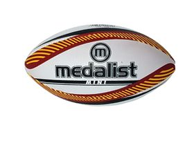 Medalist Mini Rugby Ball Size 2 - White