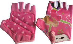 Surge Cycling Gloves Girls Pink 12