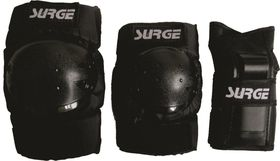 Surge Pads Combo - Black - Small (Below 40kg)