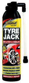 Shield - Tyre Jack Inflator and Sealer 340ml