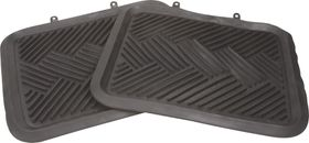 Moto-Quip - Heavy Duty Rubber Mat - Black